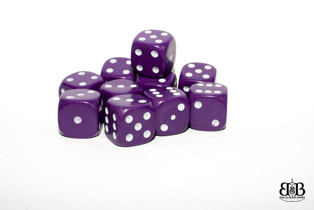 12mm spotted dice
