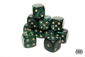 12mm Pearl spotted Dice