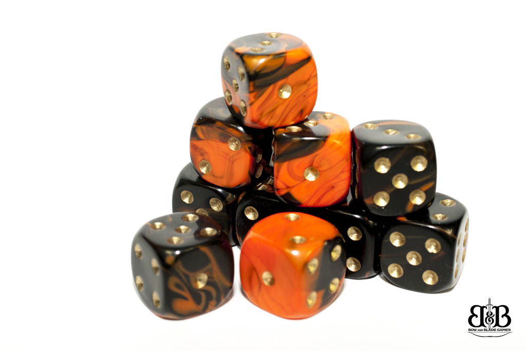 12mm Toxic Spotted Dice