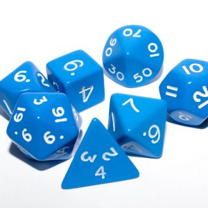 Poly Dice Sets Opaque