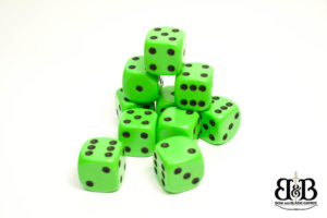 16mm spotted dice