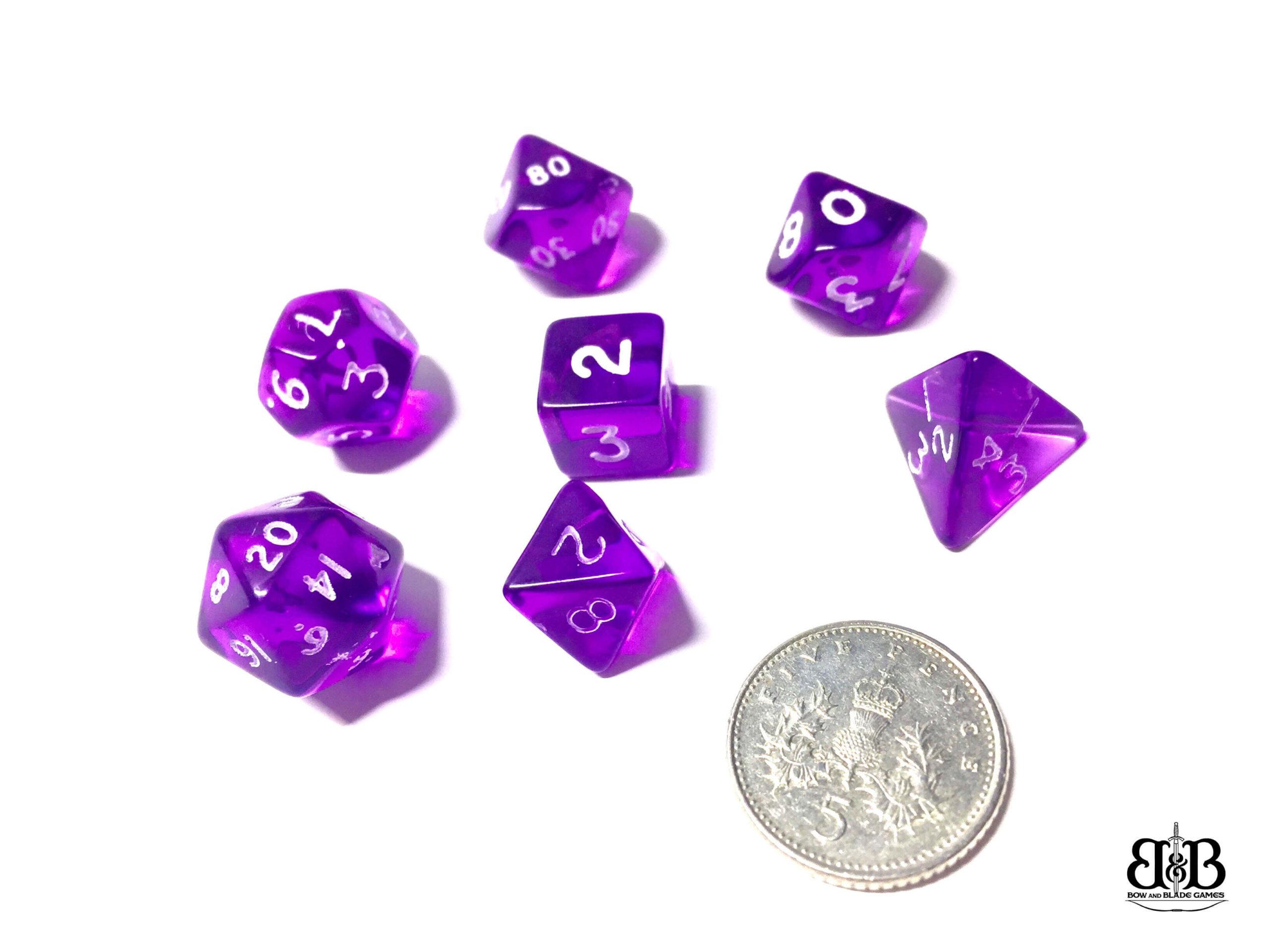 Mini Poly Dice Sets