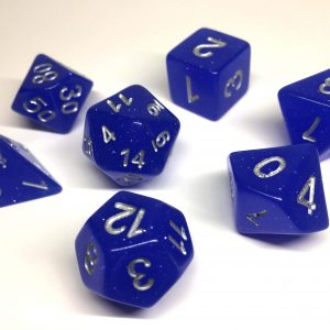 Poly Dice Sets Glitter