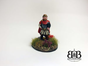 King Urien of Rheged in 28mm