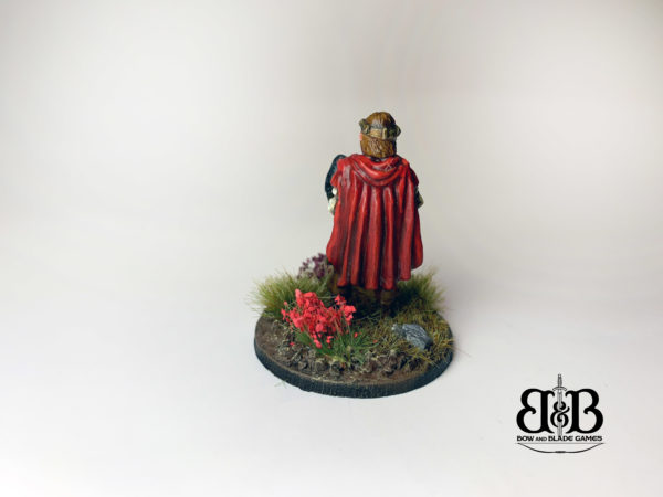 King Urien of Rheged in 28mm