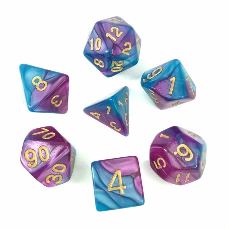 Bright Blue Purple HDH06