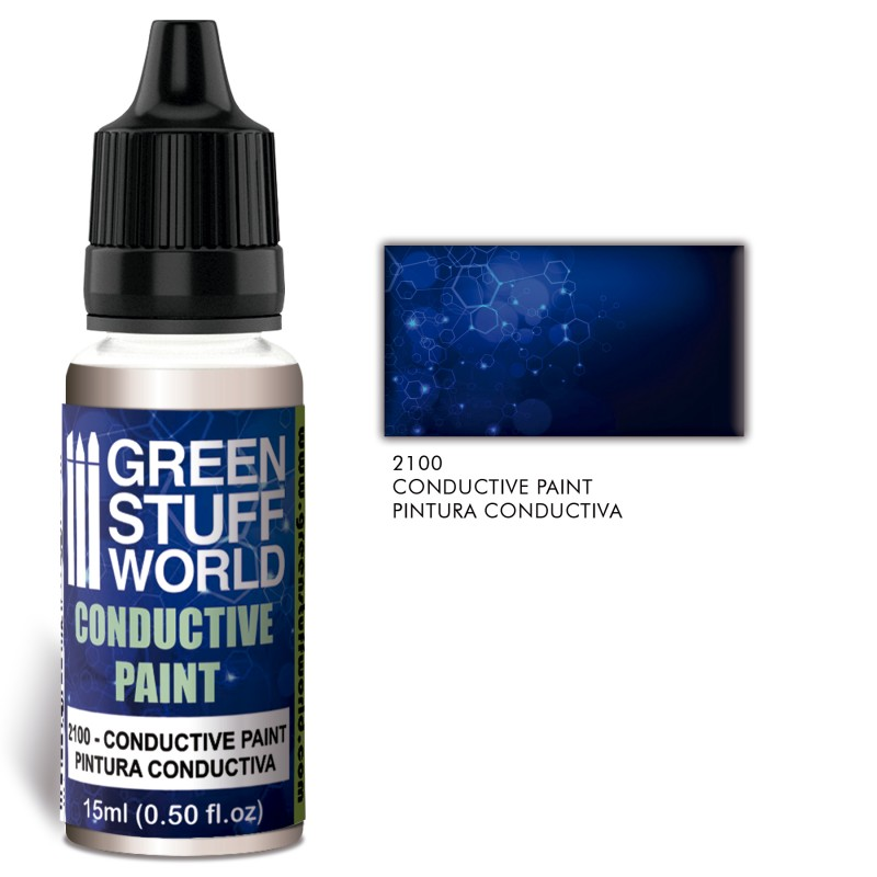 Green Stuff World Conductive paint with Silver