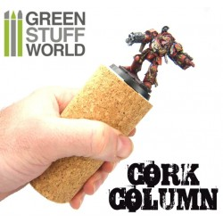 Cork Sculpting Column