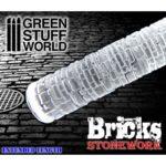 Green Stuff World Bricks Rolling Pin