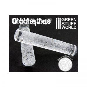 Green Stuff World Textured Rolling Pin Cobblestone