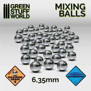 Green Stuff World Mixing Balls