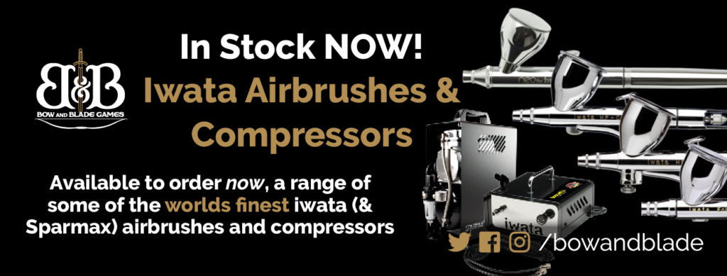 Iwata Airbrushes in stock now!