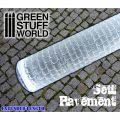 Green Stuff World Textured Rolling Pin Sett Pavement