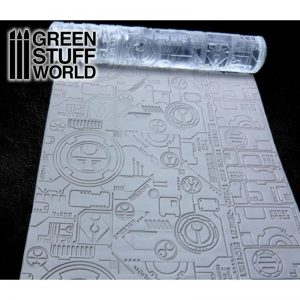 GREEN STUFF WORLD Tau Textured Rolling Pin