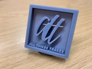 All Things Trance 3D Logo Print