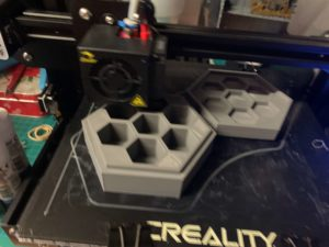 3D printing a dice tray