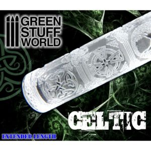 Green Stuff World Textured Rolling Pin Celtic