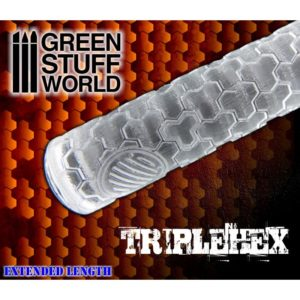 Green Stuff World Triple Hex Rolling Pin
