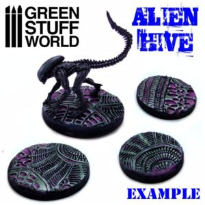 Green Stuff World Alien Hive Textured Rolling Pin