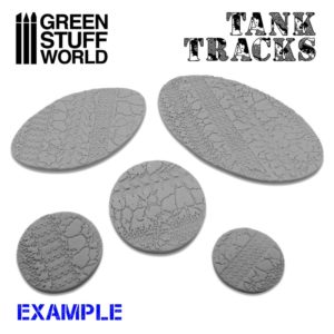 Green Stuff World Rolling Pin Tank Tracks