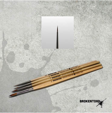 Broken Toad Mk3 Brush size 3/0 000