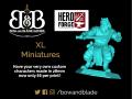 Hero Forge Printing UK - XL Miniatures