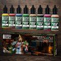 Green Stuff World Artistic Acrylic Colours - Basic Paint Set