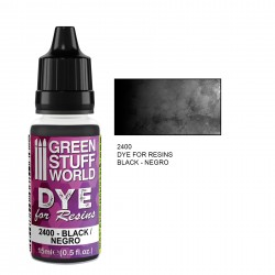 Green Stuff World - Dye for resin - Black