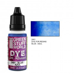 Green Stuff World - Dye for resin - blue