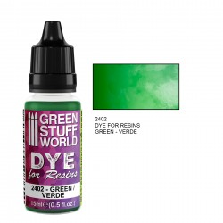 Green Stuff World - Dye for resin - green