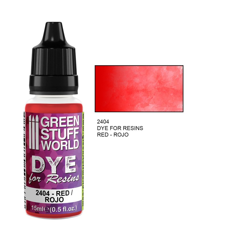 Green Stuff World - Dye for resin - red