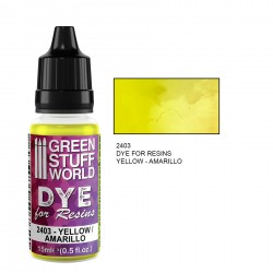 Green Stuff World - Dye for resin - yellow