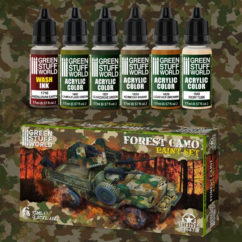 Green Stuff World Forest Camo