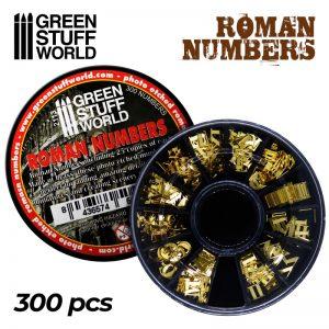 Green Stuff World Roman Numbers
