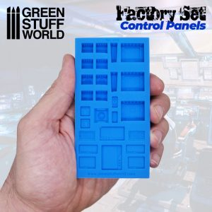 Green Stuff World Silicone Mold Control Panels