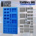 Green Stuff World Silicone Mold Control Panels