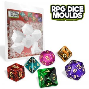 Green Stuff World RPG Dice Moulds