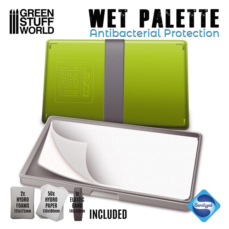 Green Stuff World Wet Palette